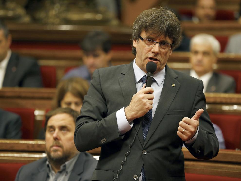 Foto archivo de Puigdemont