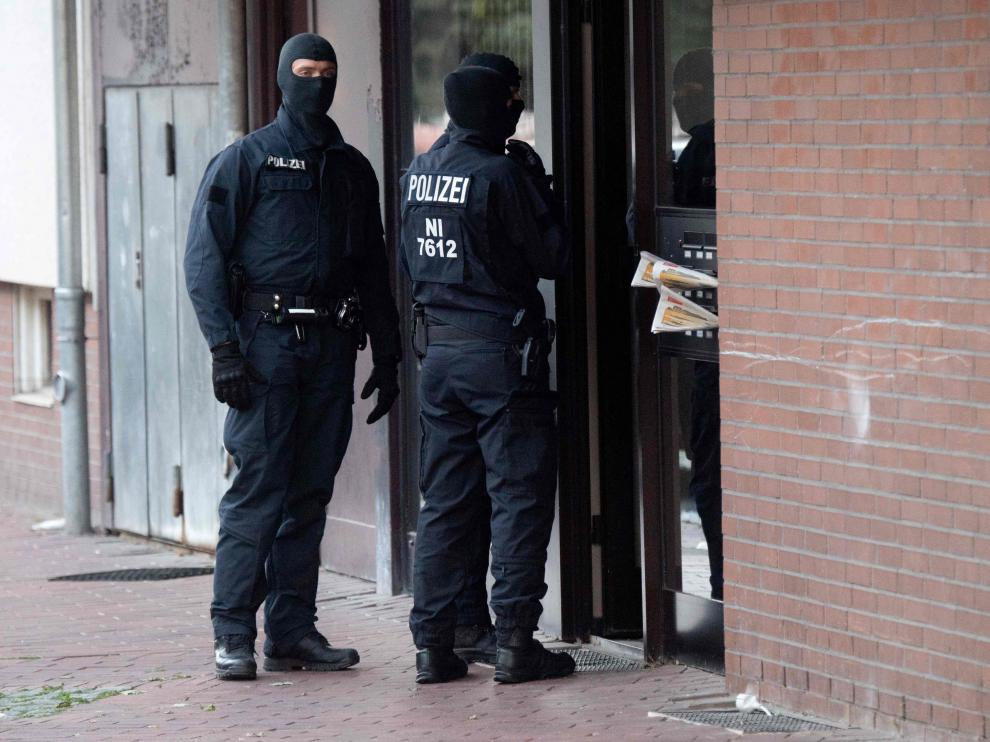 La policía alemana registra una mezquita presuntamente vinculada al yihadismo