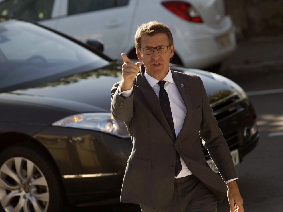 Núñez Feijoo, candidato popular al Gobierno gallego