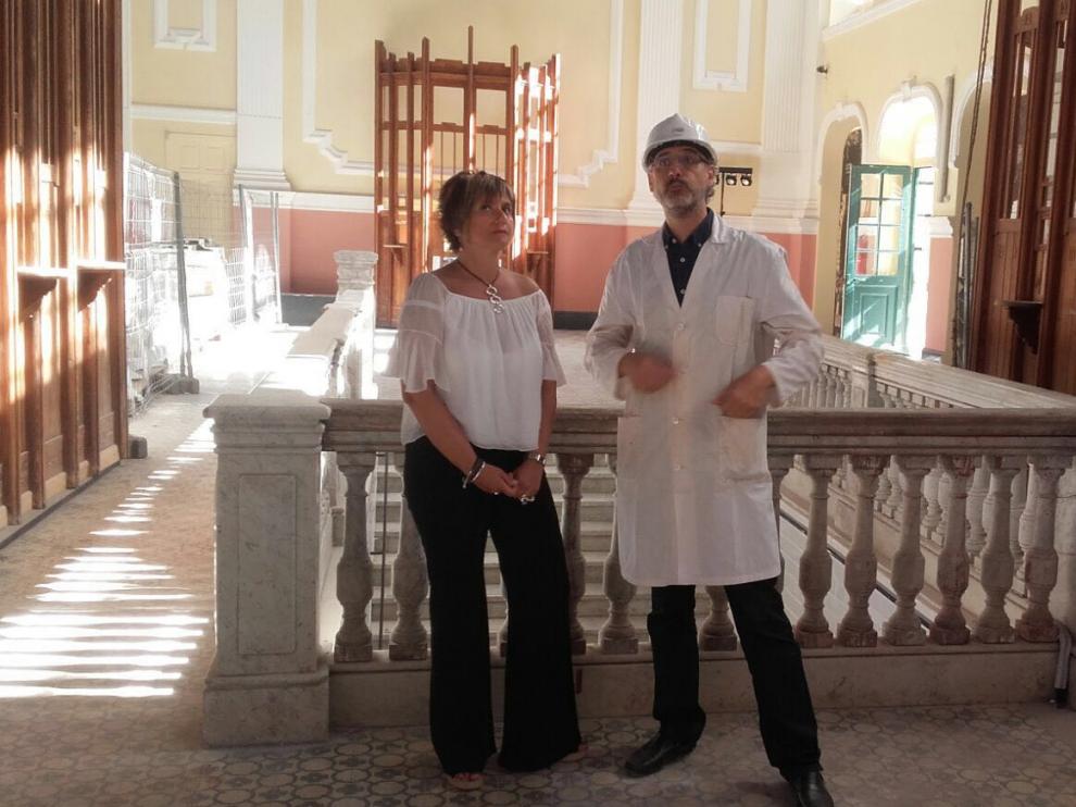 La directora general de Vivienda y Rehabilitación ha visitado esta mañana la estación con motivo del inicio de estas obras