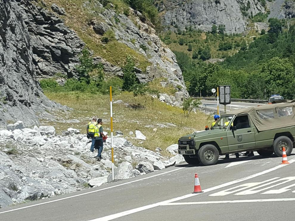 Fallece un militar mientras practicaba escalada en Canfranc-Estación