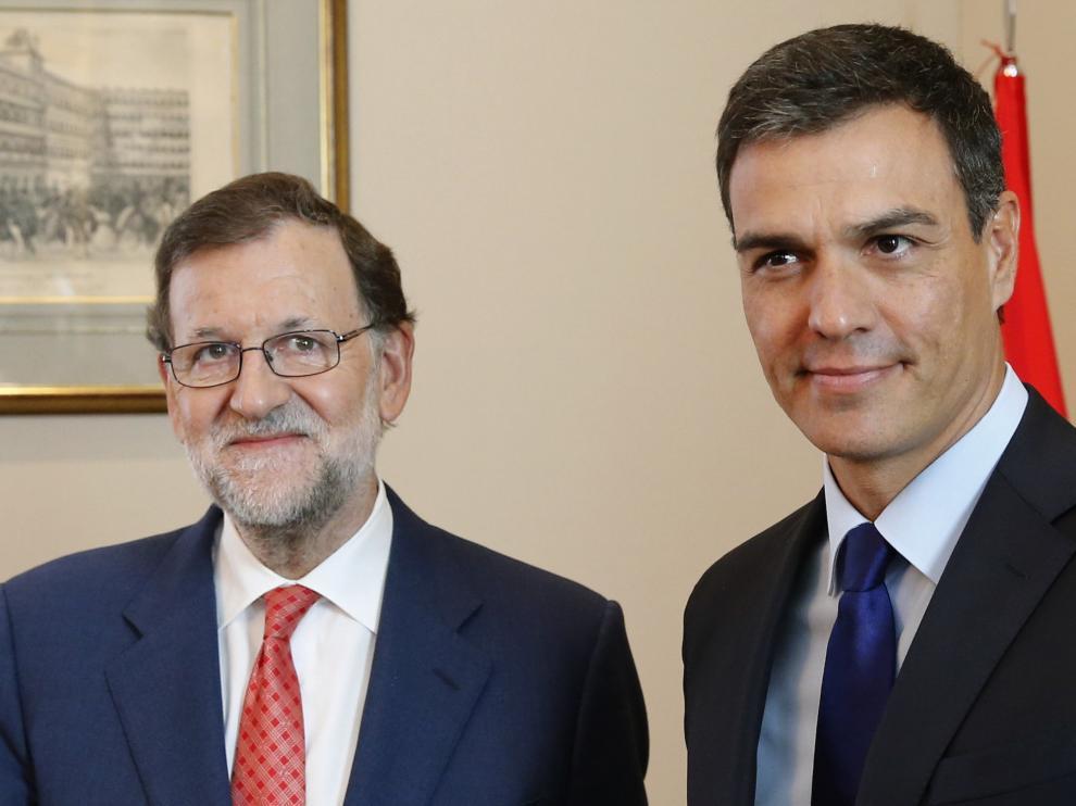 Segunda reunión entre Rajoy y Sánchez