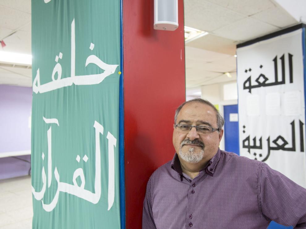Fawaz Nahhas, presidente de la Comunidad Islámica de Zaragoza