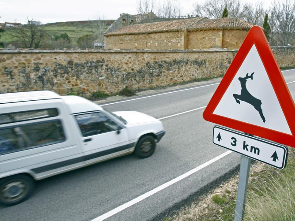 Carretera de Soria, imagen de archivo