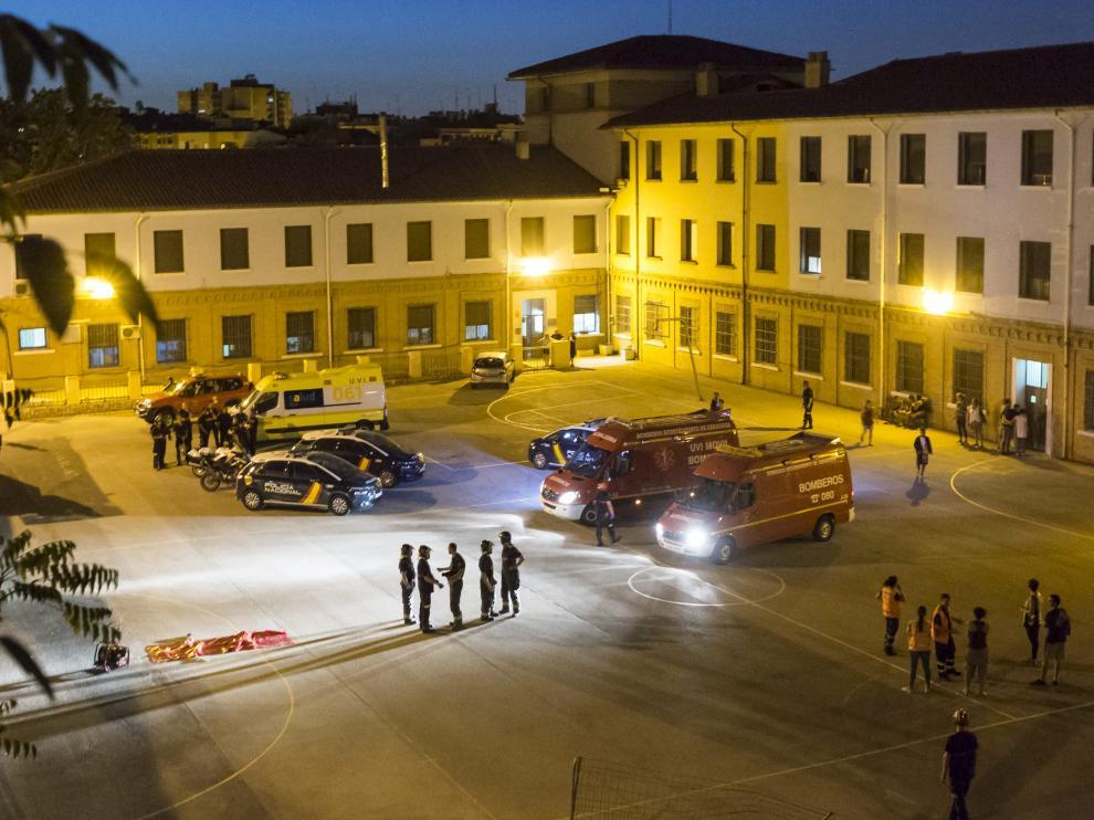 Imagen de un incidente registrado el año pasado en el COA