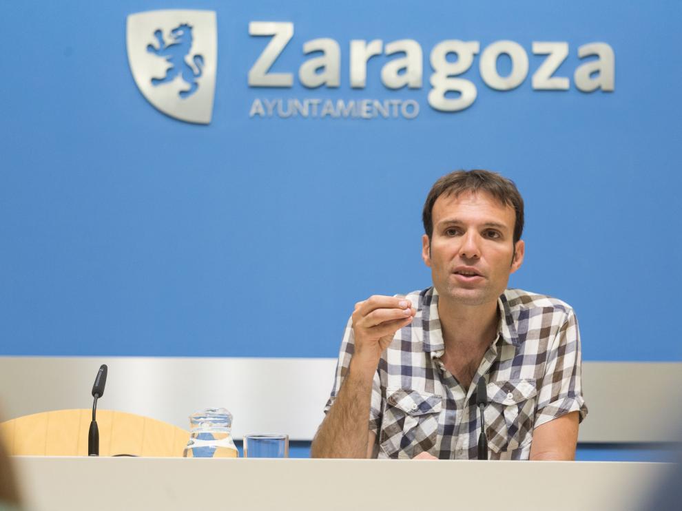 El consejero municipal de Urbanismo y Sostenibilidad, Pablo Muñoz, en imagen de archivo.