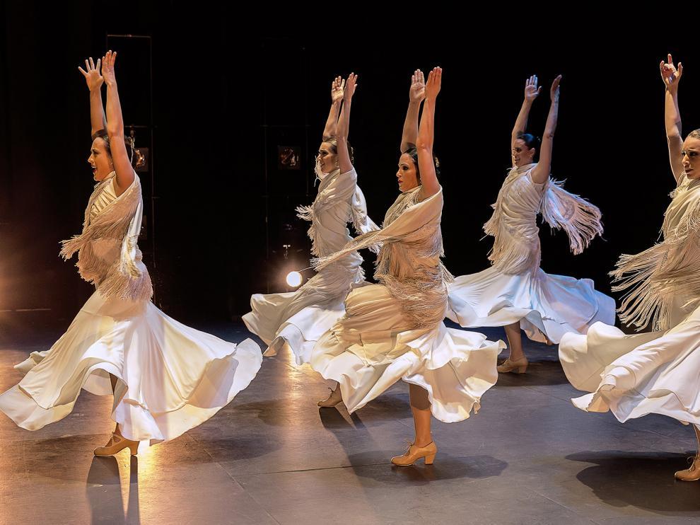 Un espectáculo de danza en la provincia de Teruel.