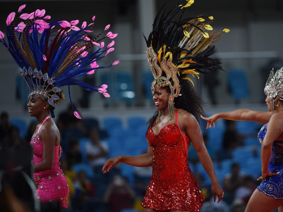 Río de Janeiro se llena de samba durante los Juegos Olímpicos.