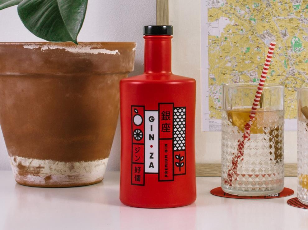 Gin Za, una ginebra con sabor japonés y espíritu zaragozano.