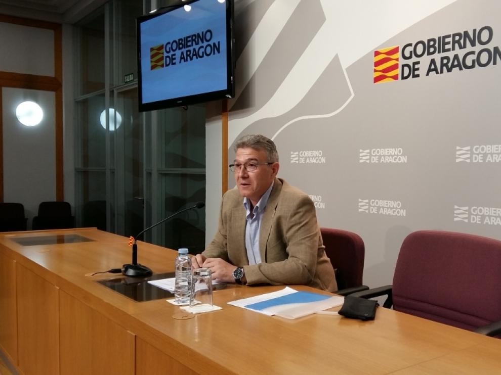 El director gerente del IASS, Joaquín Santos, en una foto de archivo.