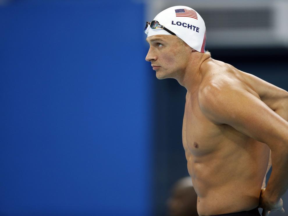 Lochte, en la piscina olímpica de Río