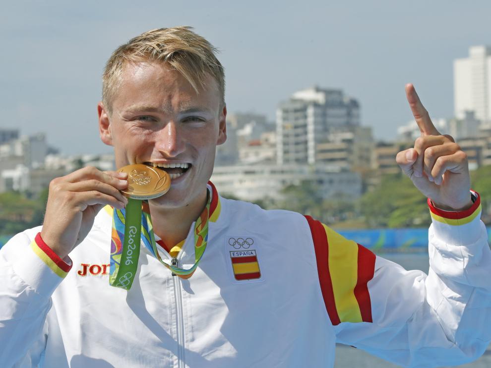 El español Marcus Cooper Walz, oro en K1 1.000