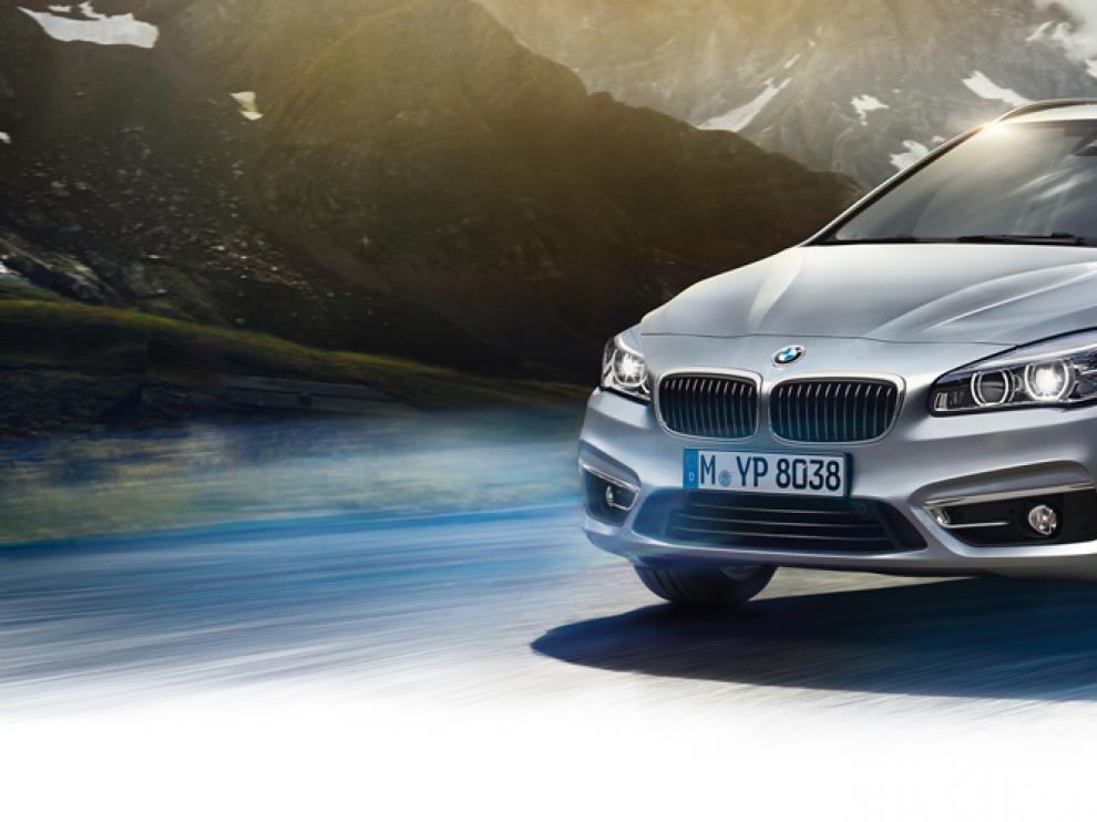 BMW Serie 2 Active Tourer híbrido enchufable.