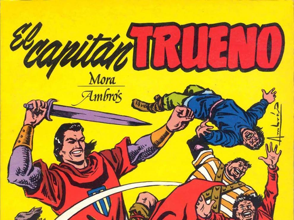 Cómic del Capitán Trueno.