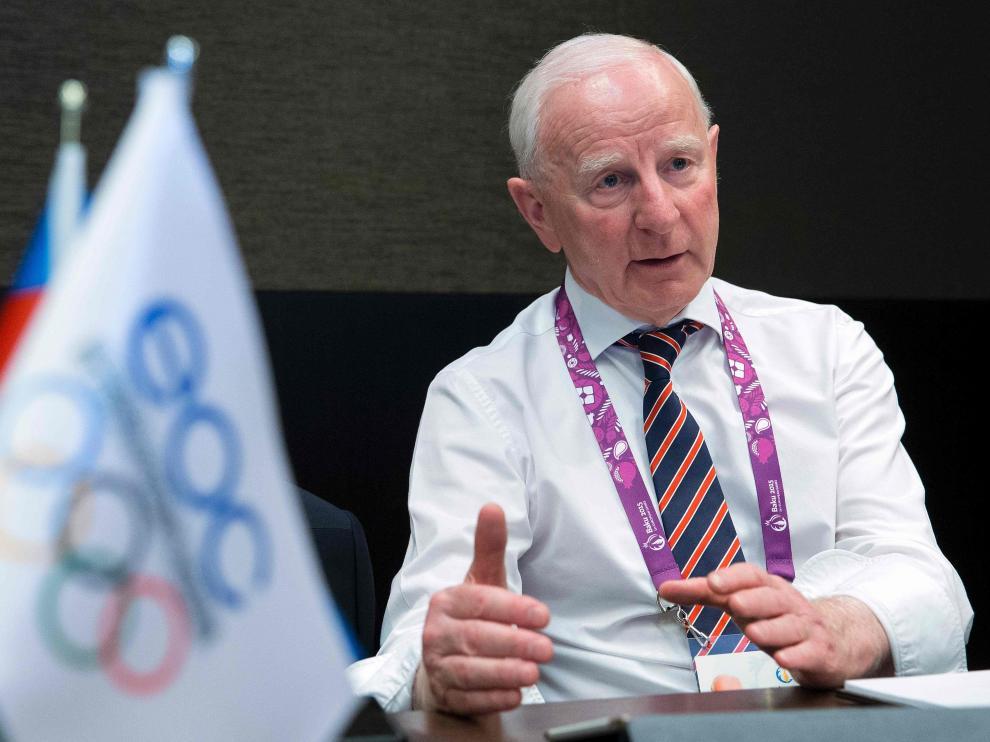 Patrick Hickey, presidente del Comité Olímpico de Irlanda.