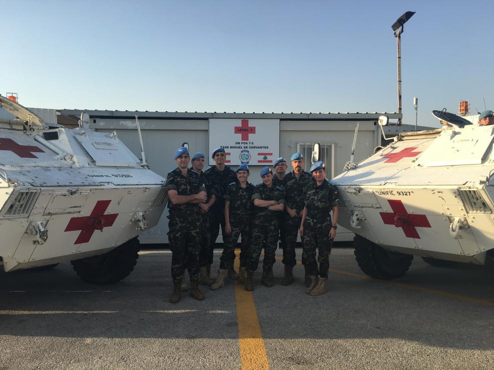 Oficiales de la Unidad Sanitaria (USAN)