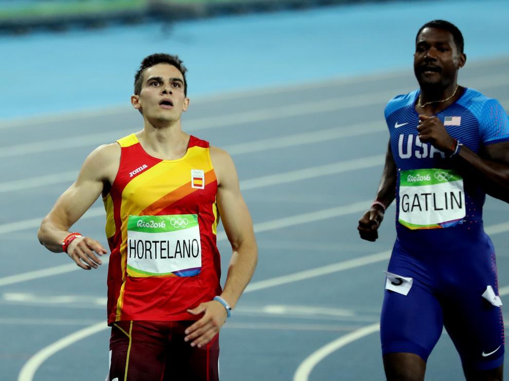 Bruno Hortelano se queda sin una final del 200.