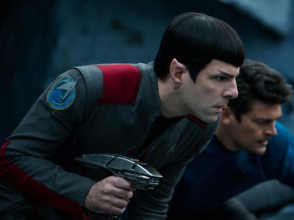 Fotograma de la película 'Star Trek: más allá'.