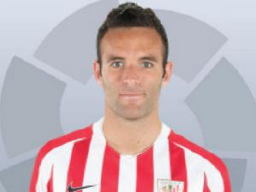 Borja Viguera, delantero centro del Athletic de Bilbao.