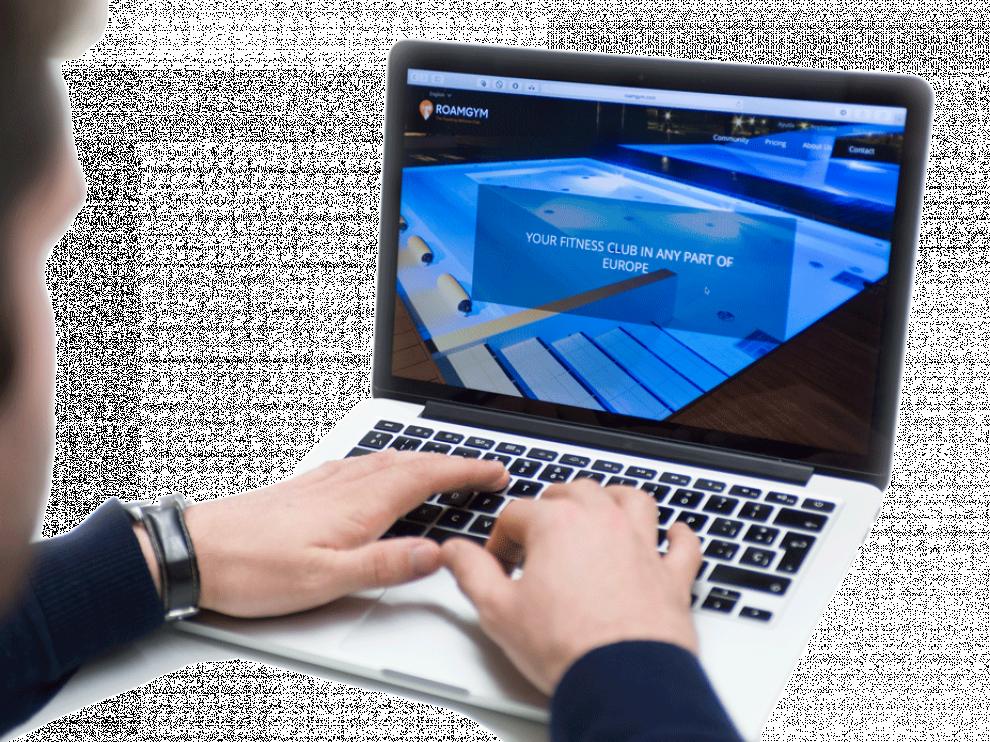 La plataforma web Roamgym conecta gimnasios de toda Europa.