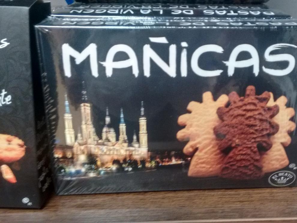 Pastas 'Mañicas', recuerdo de Zaragoza elaboradas en Soria.