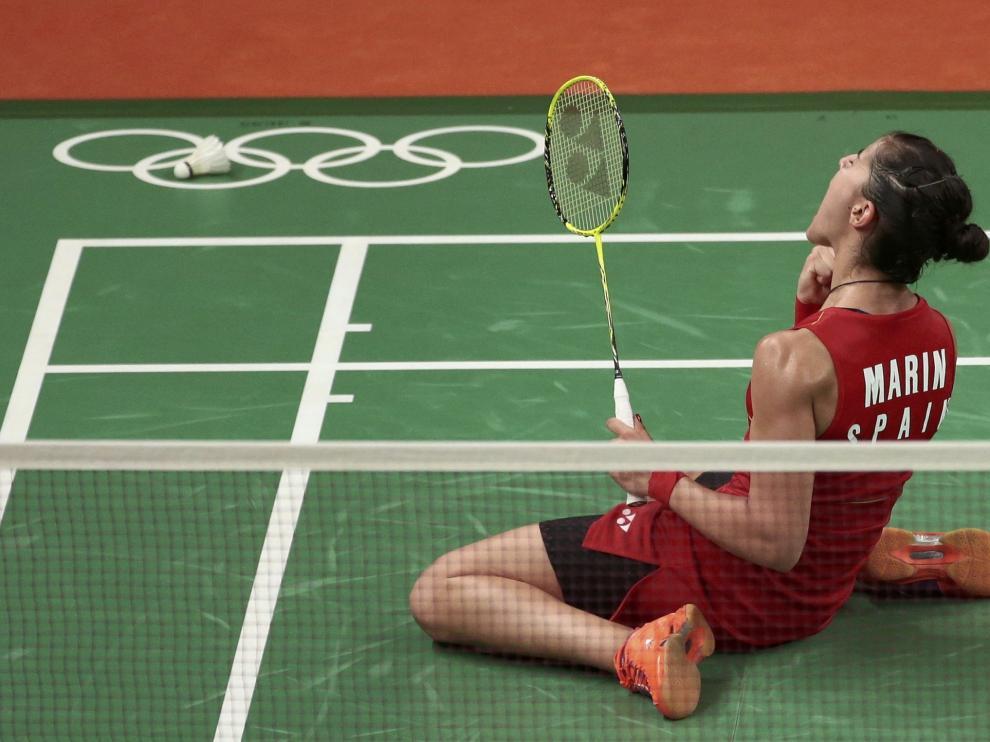 Marín, campeona olímpica, completa un palmarés envidiable