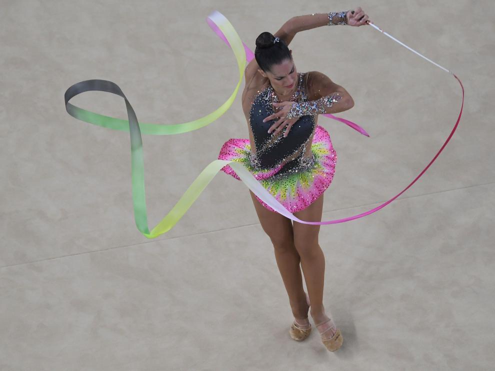 La española Carolina Rodríguez este sábado en Río.