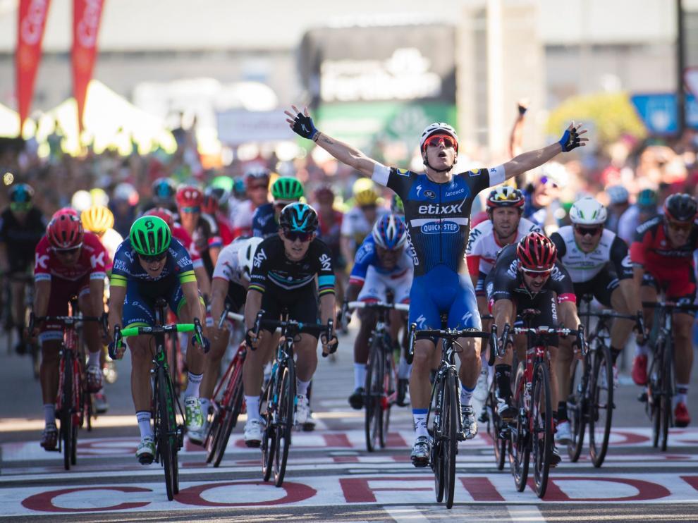 Gianni Meersman se impone en la segunda etapa en Bayona