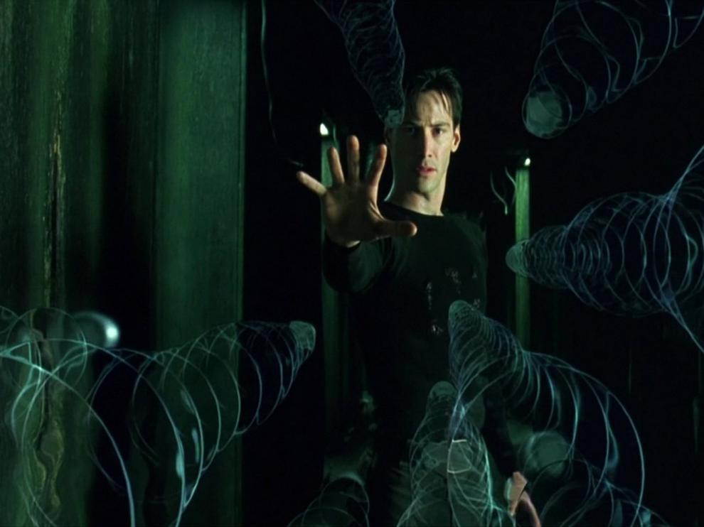 Fotograma de la película 'Matrix'.