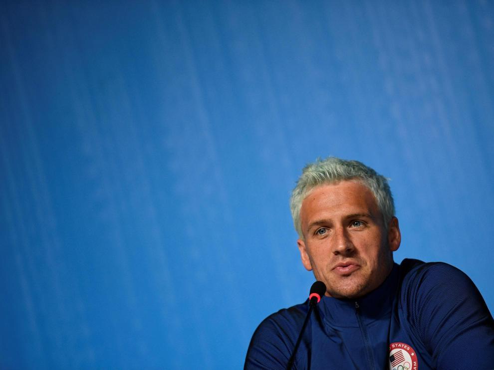 Foto archivo del nadador olímpico  Lochte