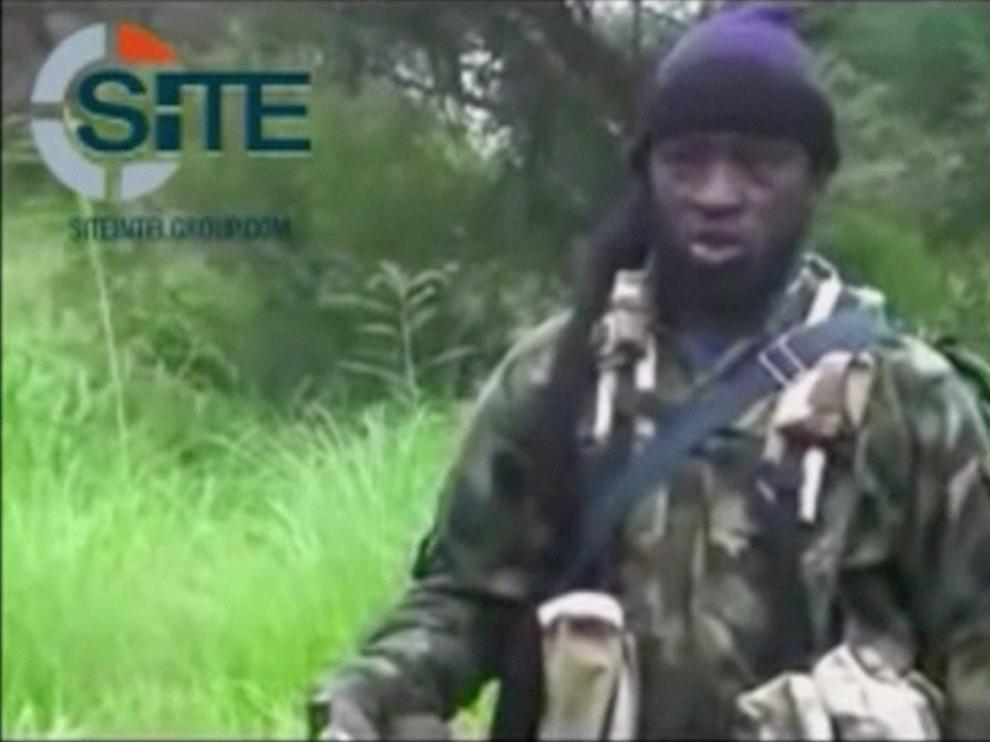 Imágenes del supuesto líder de la agrupación terrorista, Abubakar Shekau