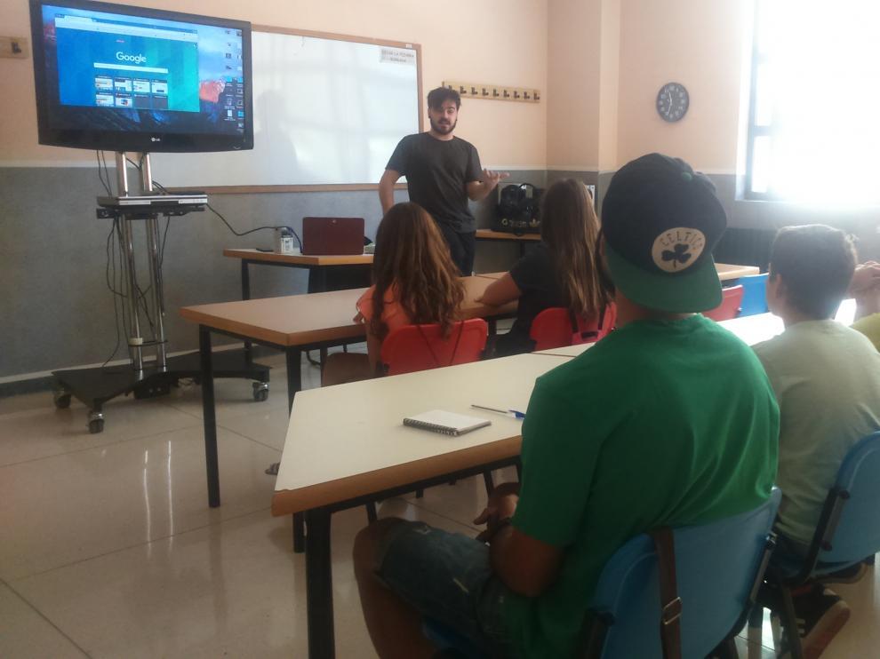 Academia de youtubers en Zaragoza