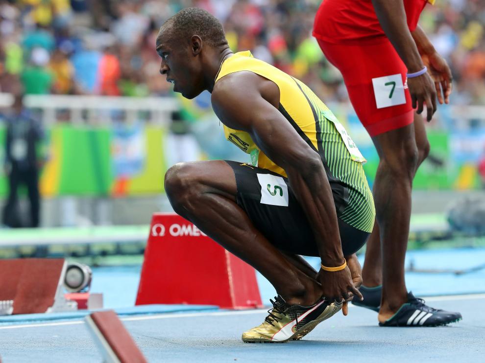 Pagan 16.000 euros por una zapatilla que Usain Bolt usó en el Mundial de Pekín