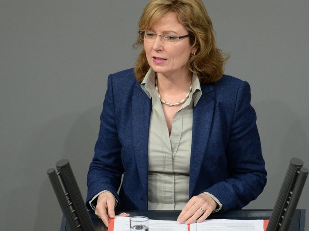La diputada alemana Petra Hinz.