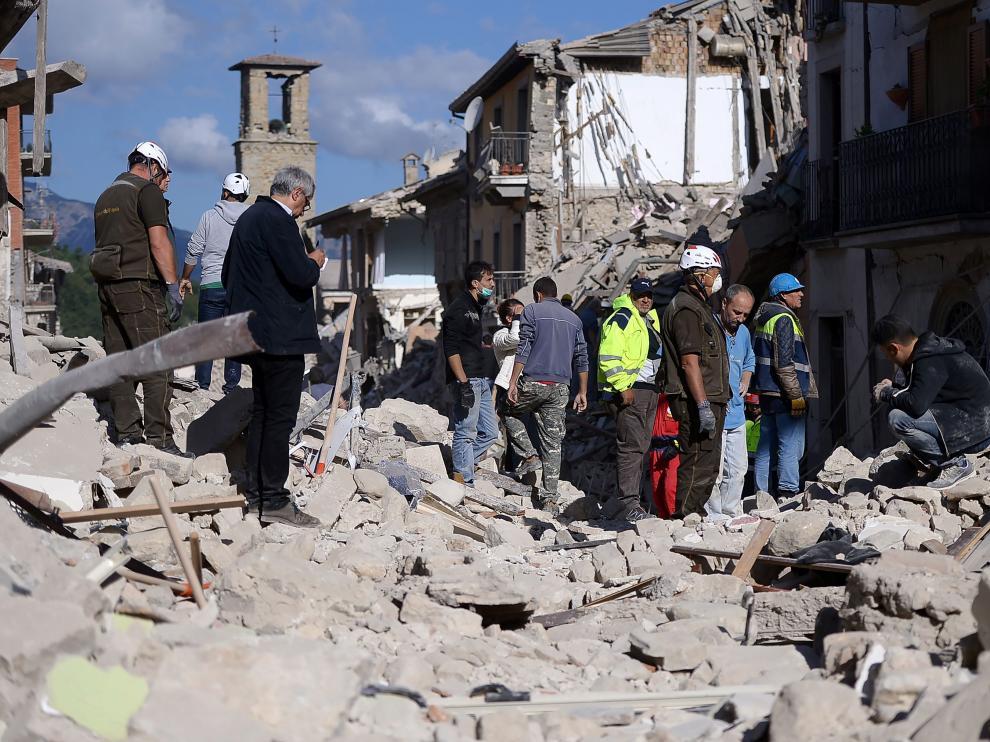 Terremoto en el centro de Italia