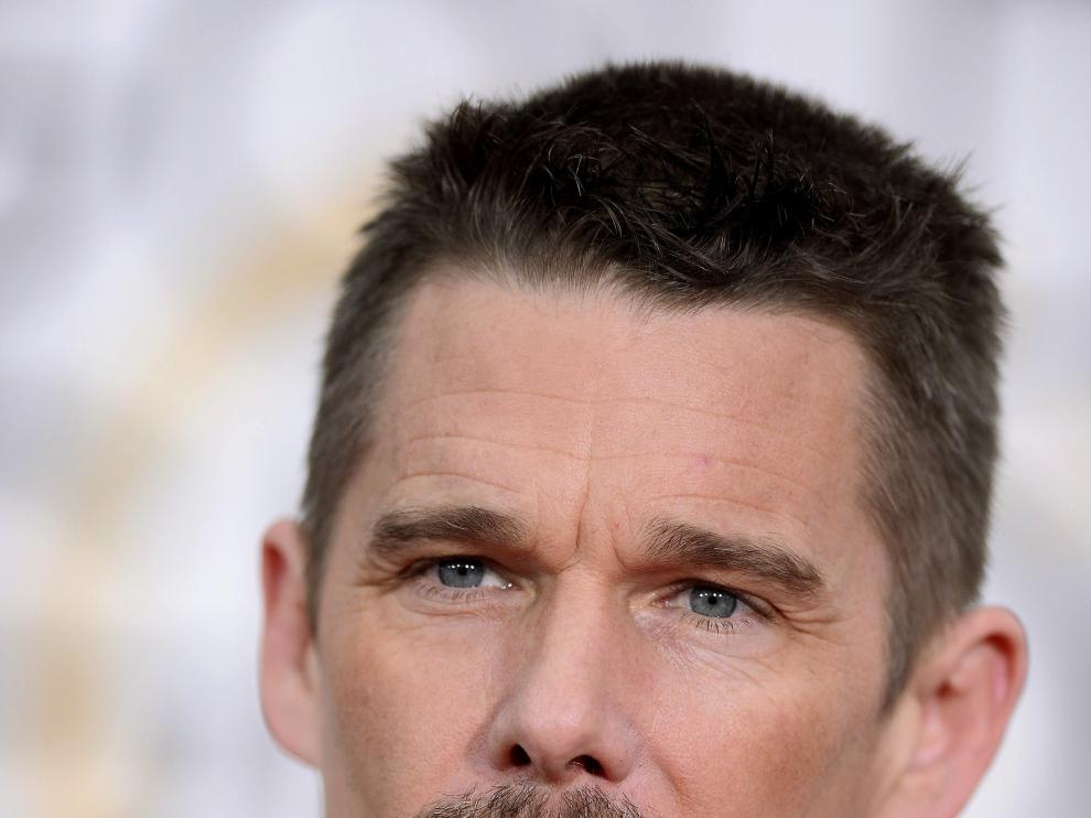 El actor estadounidense Ethan Hawke.