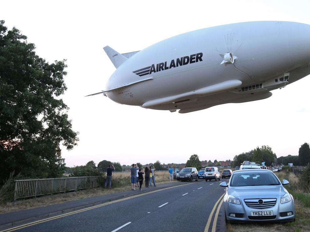 Airlander 10, la nave más gramde del mundo