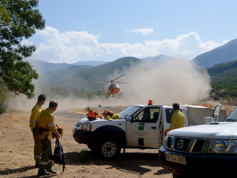 Incendios forestales en España.