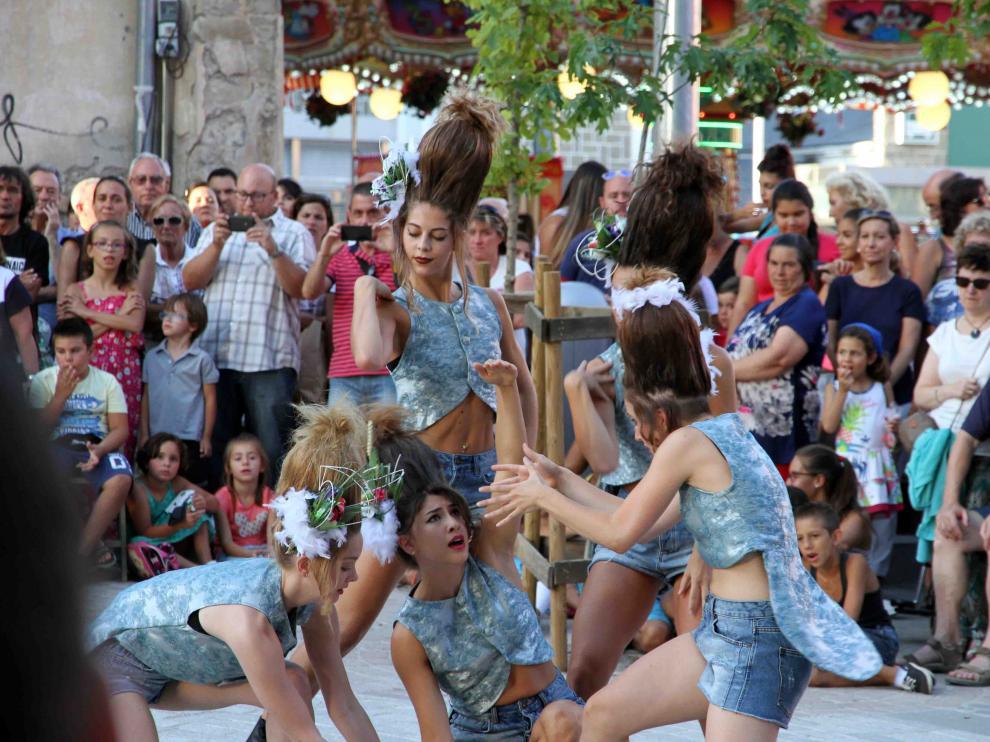 Imagen de una edición pasada del Festival en el Camino de Santiago, que reúne en la Jacetania a casi 40.000 personas