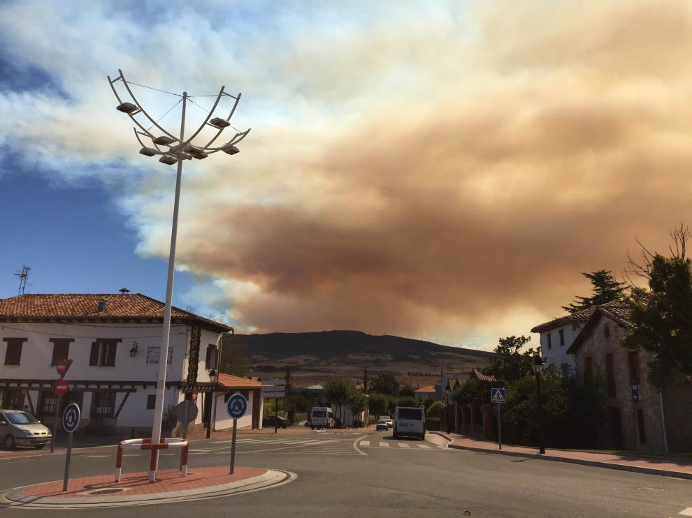 Incendio en Tafalla