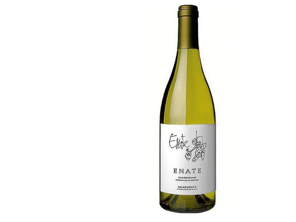 Enate Chardonnay Barrica 2015.