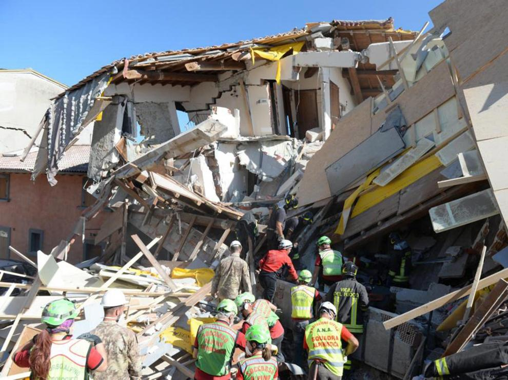 El terremoto devastó varias localidades.