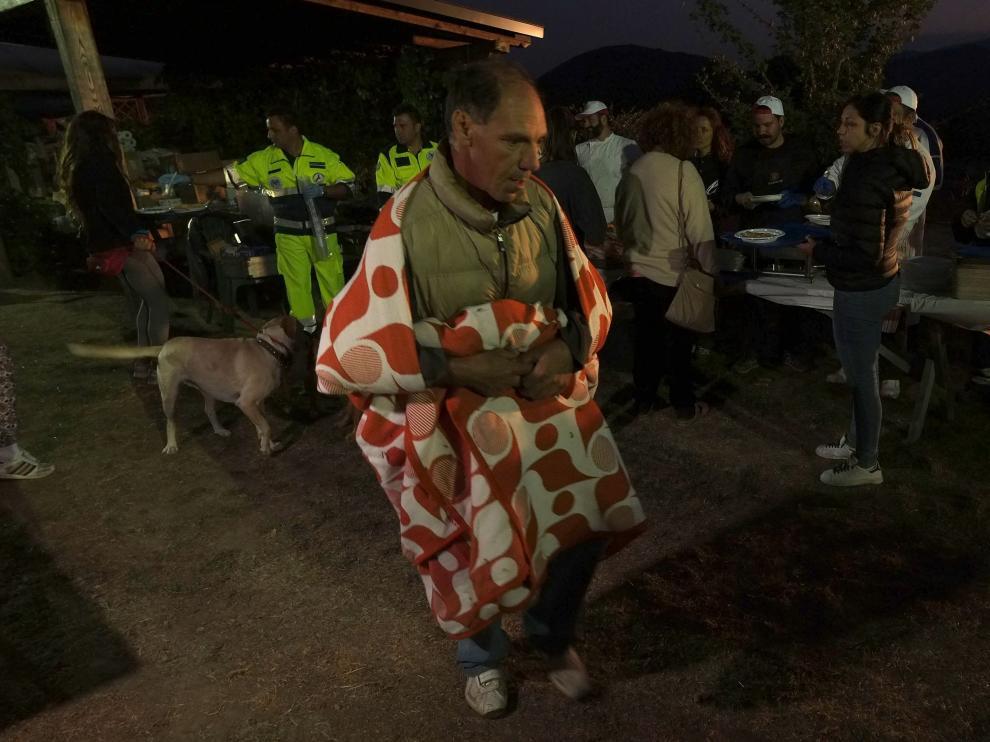 Nueva noche de temblores en el centro de Italia