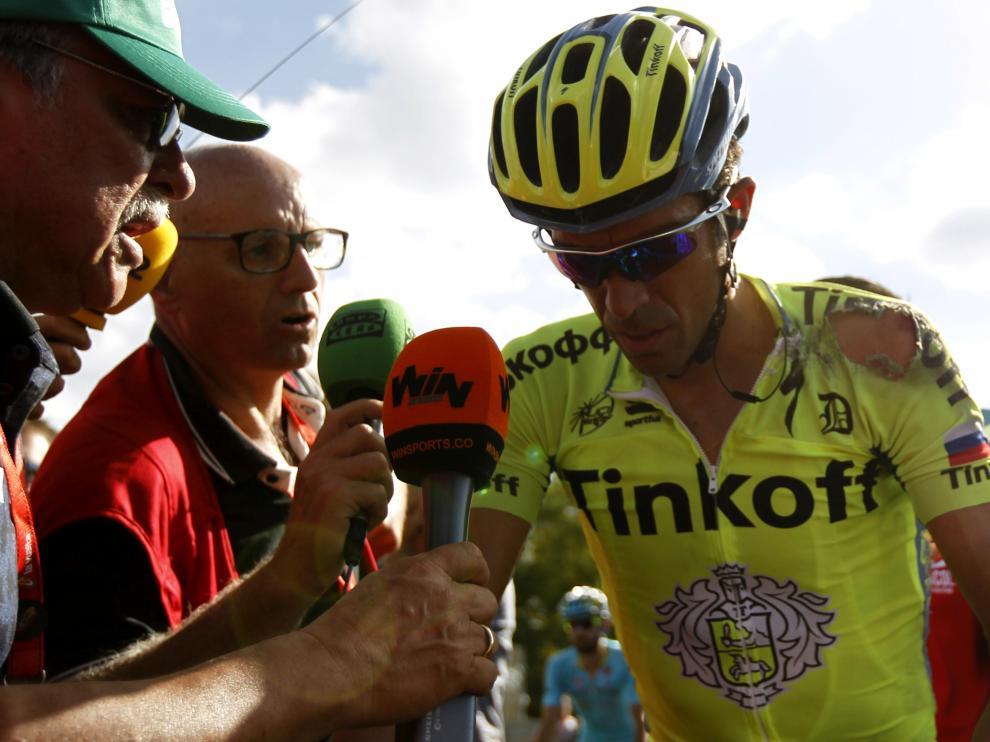 El ciclista Alberto Contador, en una imagen de archivo.