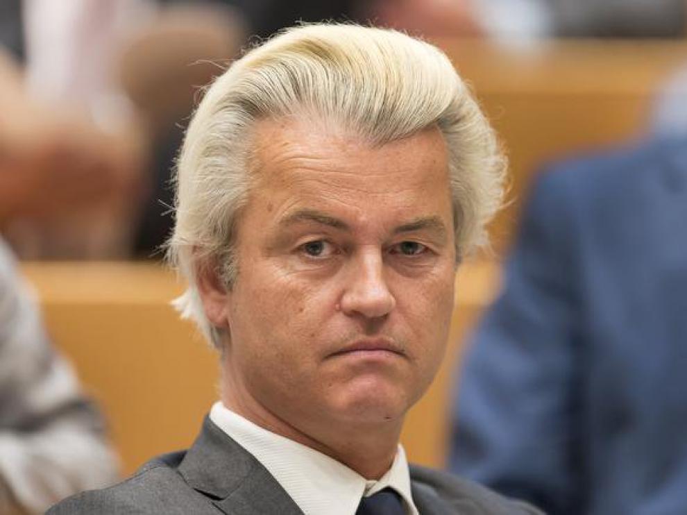 El líder del partido de extrema derecha holandés, Geert Wilders.