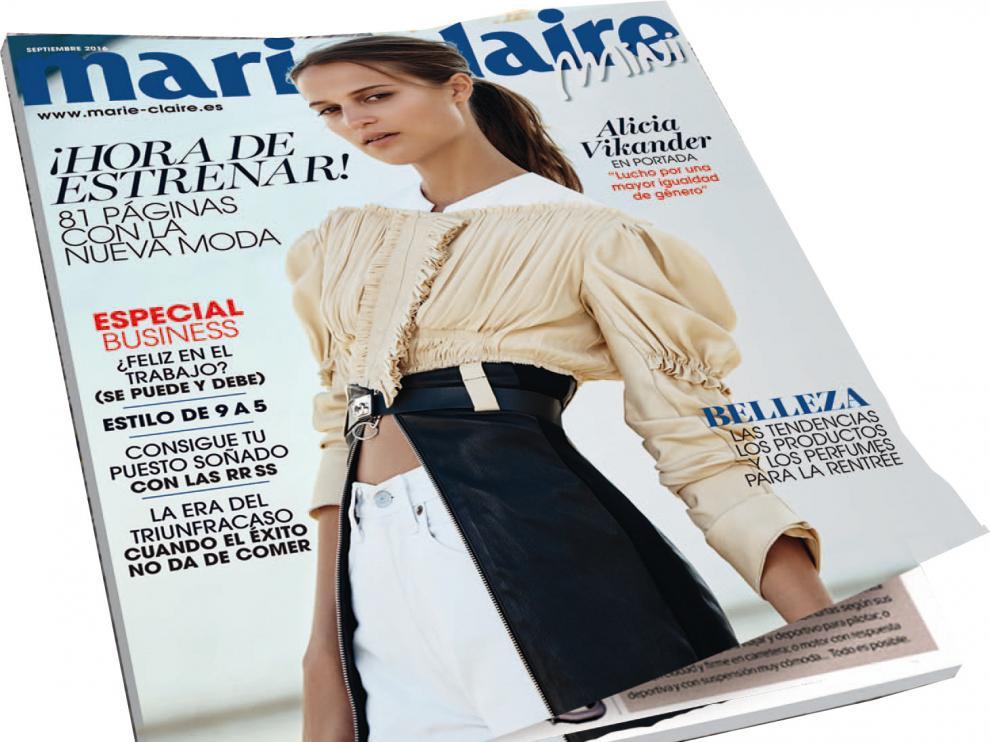 Ejemplar de la revista 'Marie Claire'.