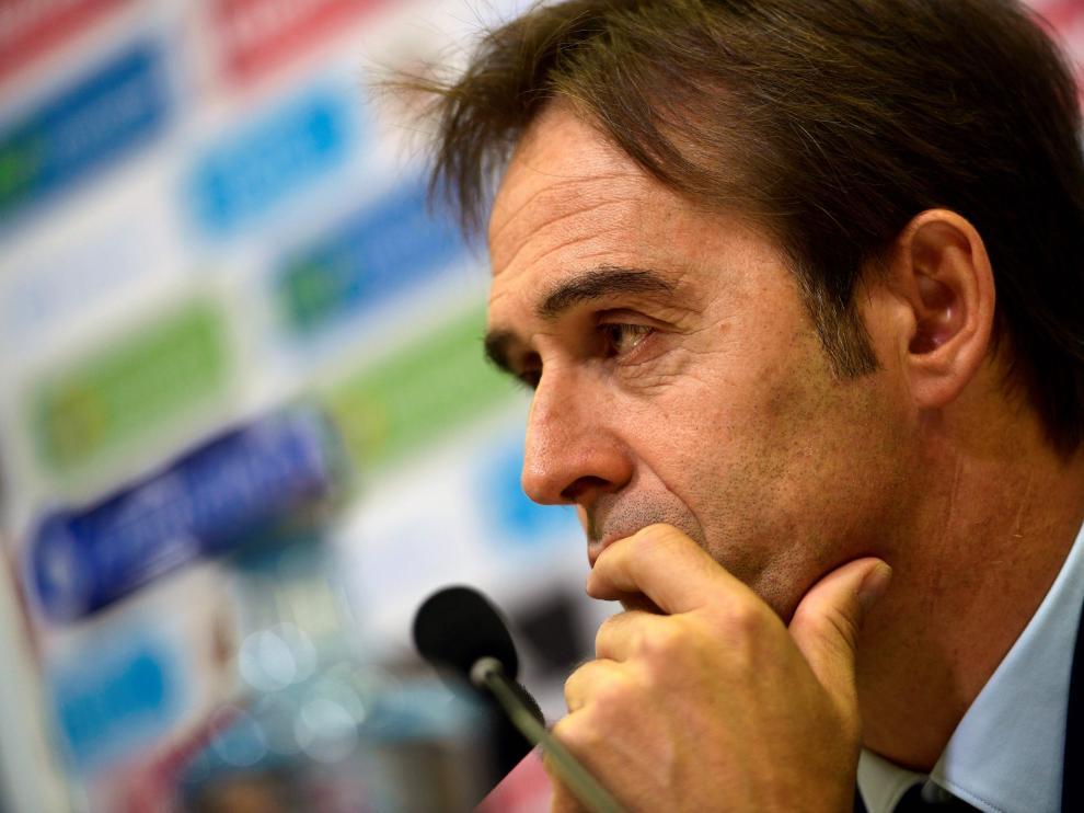 El nuevo seleccionador español Julen Lopetegui
