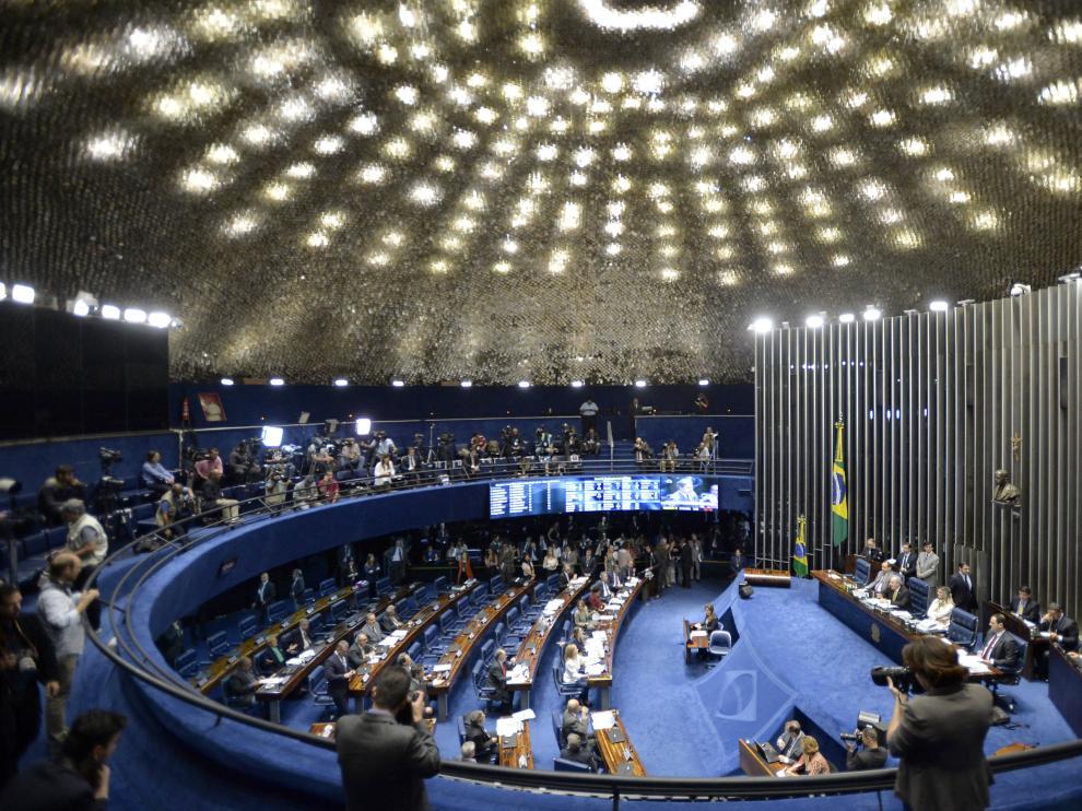 El senado brasileño