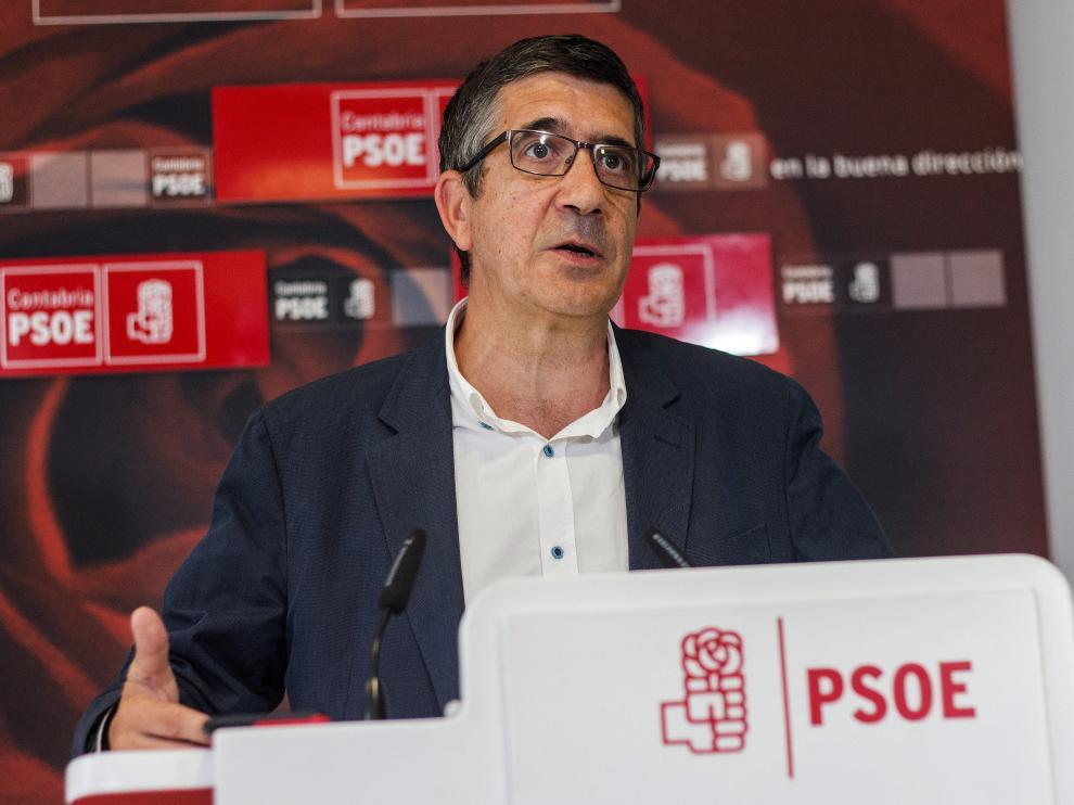 Patxi López en Cantabria.