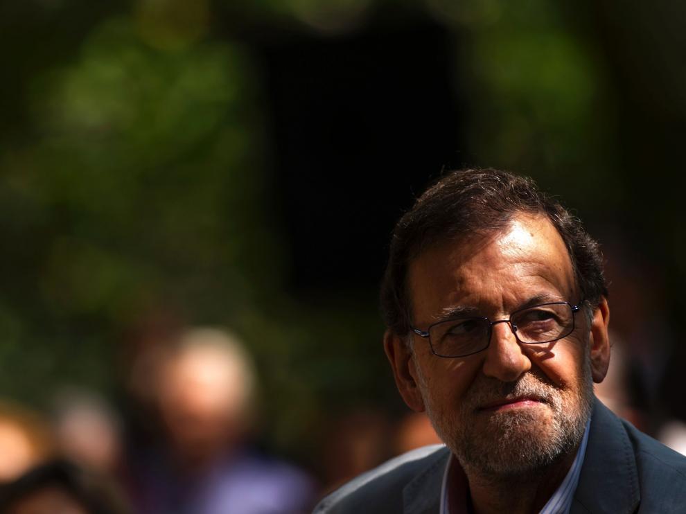 Rajoy en el acto de inicio de curso del PP.
